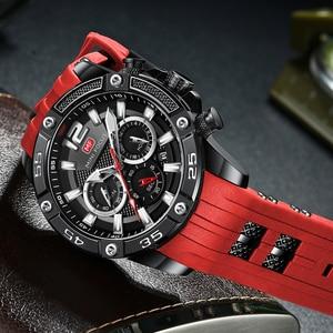 Image 3 - Mini foco moda esporte relógio masculino à prova dwaterproof água dos homens relógios marca superior de luxo quartzo relogio masculino hombre pulseira silicone
