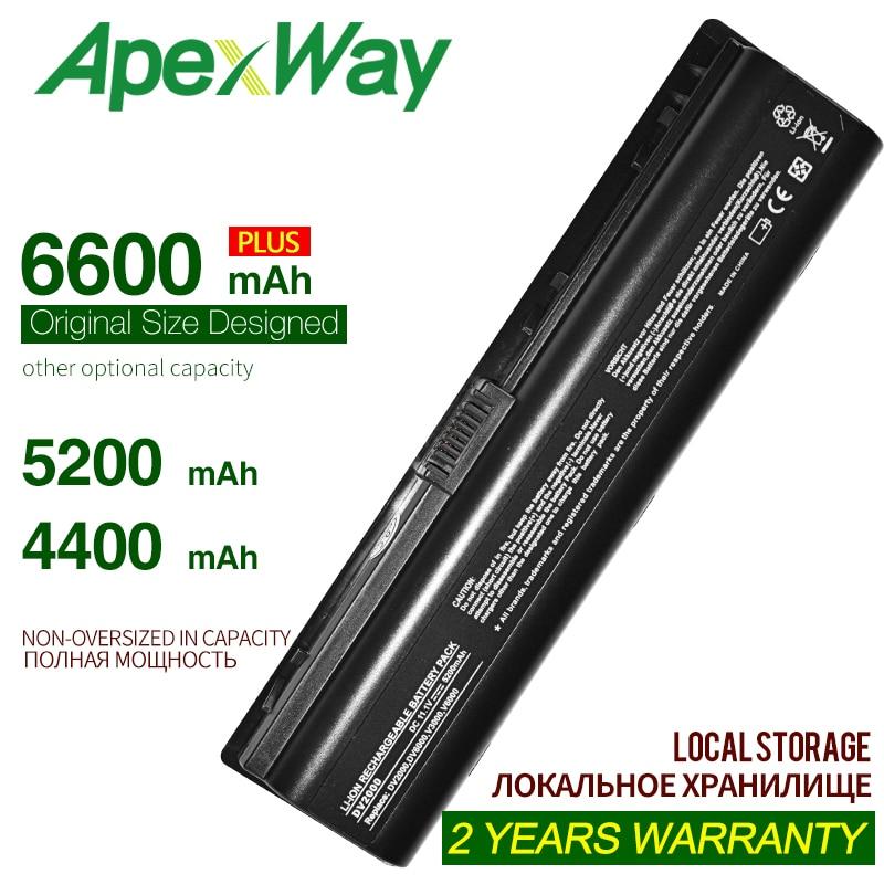 4400mAH Battery For HP Pavilion HSTNN-DB42 HSTNN-LB42 HSTNN-Q21C DV2000 DV2100 DV2200 DV2700 DV2800 DV2900 DV6000 DV6300 DV6700