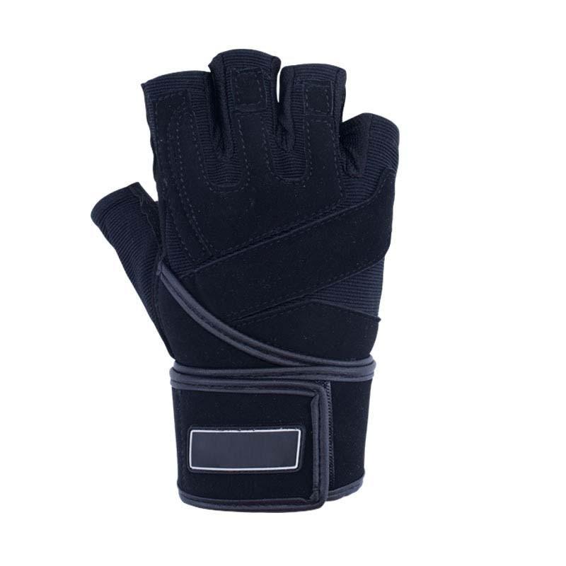 Cycling Gloves Half-finger Men's Spring And Summer Non-slip Shock-absorbing Outdoor Gloves