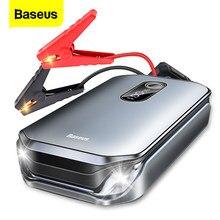 Baseus 12000mAh urządzenie do uruchamiania awaryjnego samochodu Power Bank 12V Auto urządzenie zapłonowe 1000A Starter skoku samochodowego akumulator awaryjny akumulator rozruchowy do samochodu