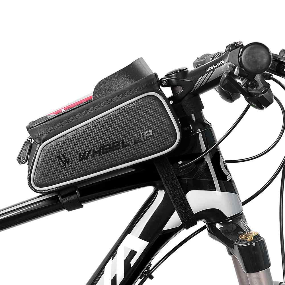 Wheel Up MTB Bicycle Front Bag Waterproof Bike Frame Saddle Phone Case