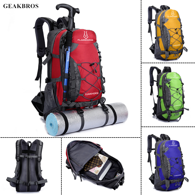 50L Outdoor Sport Travel Hiking Camping Trekking Climbing Backpack Luggage Bag