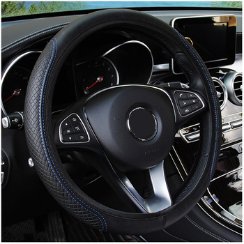 Micro Fiber Leathe Car Steering Wheel Cover for Lexus ix250 ct200h is200 gs300 es350 rx for Toyota Rav4 Car Interior Accessories image
