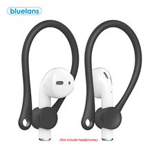 2PCS Mini jatuh Nirkabel Bluetooth Headset Earhooks Earphone Protector Pemegang Olahraga Anti-lost Ear Hook untuk air-pod 1 2(China)