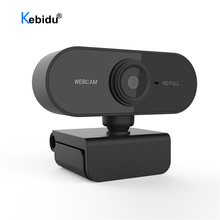 Webcam 1080P Computer Usb-Camera Microphone-Web Live-Video Full-Hd with for Pc Calling-Work