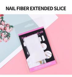 10pcs Fiber Glass Nail Extension for UV Gel Building Dual Forms Finger Extension Nail Art Nail extension Nail molds Nail Forms
