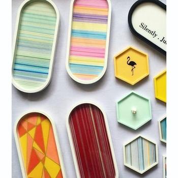 Owalna betonowa forma Coaster okrągły kwadrat tacka silikonowa forma cementowa taca na biżuterię formy betonowe homewares formy tanie i dobre opinie silicone P001