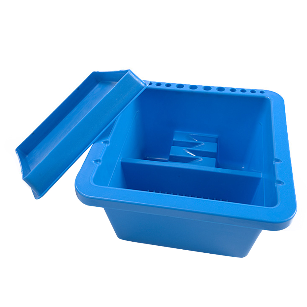 Artist Basin Cleaning Container Multifunction Watercolor Tool Home Tub School Brush Washing Bucket For Drawing With Holder