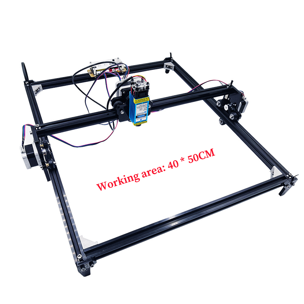 2 Axis 40X50cm Laser Engraving Machine For Wood Cutting and Printer 2