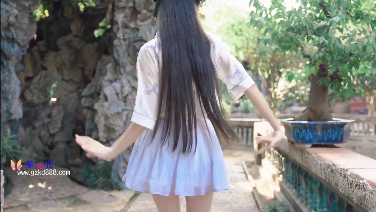 美少女up主@いとう哀 仙女裙 自唱自跳古风舞《花开一片》_图片 No.2