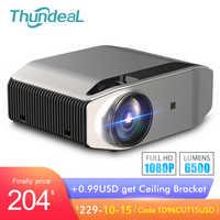 ThundeaL Full HD natif 1080P projecteur TD96 projecteur 6500Lumens LED sans fil WiFi multi-écran projecteur 3D vidéo Proyector