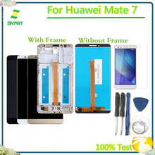 LCD Dispay Replacement Part For Mate 7 LCD Display Touch Screen Digitizer Assembly For Huawei Mate 7 MT7-L09 MT7-CL00