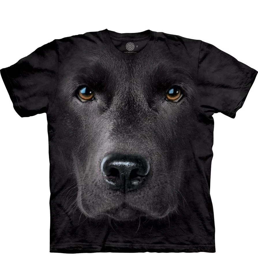 3D Funny Animal Printed Cool Dog T-shirt Cute Dog Cartoon Boy's And Girl's Clothes Top T shirt Men clothing
