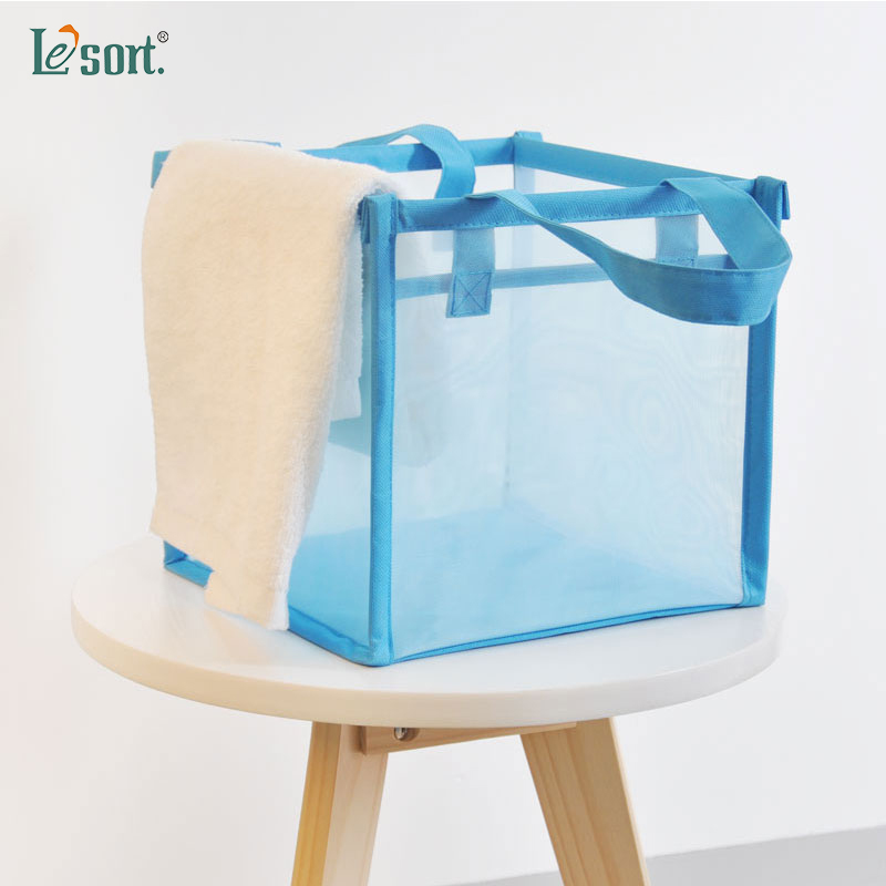 New Clothes Storage Box, Bedroom, Bathroom, Foldable And Rotatable Organizer, Mesh And Rotatable Box