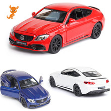 New 1:32 BENZ AMG C63S Alloy Car Model Diecasts & Toy