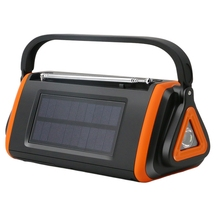 Digital Display Portable Hand Crank Radio Flashlight LED Fla