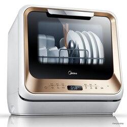 5L w pełni automatyczna zmywarka domowy pulpit nie ma potrzeby instalowania inteligentnej dezynfekcji sterylizacyjnej w wysokiej temperaturze