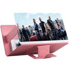 Phone Screen Magnifier Cellphone Projector Enlarged Amplifier Mobile Bracket Desktop Holder 3D HD Movie Video Stand For