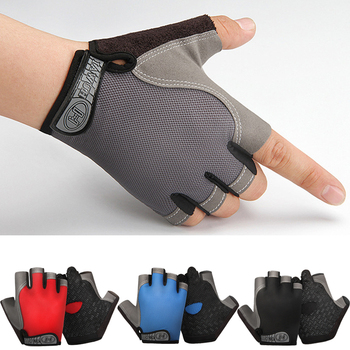 1Pair Half Finger Bike Bicycle Gloves High Elastic Breathable Mesh Anti-Slip MTB Bike Gloves Outdoor Sports Cycling Glove rockbros cycling bike bicycle gloves half finger gel anti shock breathable elastic bicycle gloves mtb motorcycle sports gloves