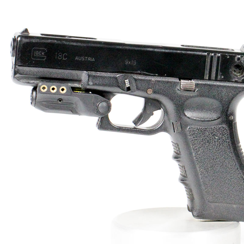 Micro Rechargeable Gun Green Laser Pointer For Pistols Handguns - Fits Springfield XD XD-S XDM S&W M&P Beretta PX-4