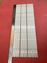 Nova 10 Pçs/lote 6LED tira retroiluminação LED para Hisense LTDN55K321 UB55EC591 LC-55n6000u SVH550AF2 LTDN55K321UWTSEU DEXP U55B9000H