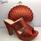 Amazing red sandals ...