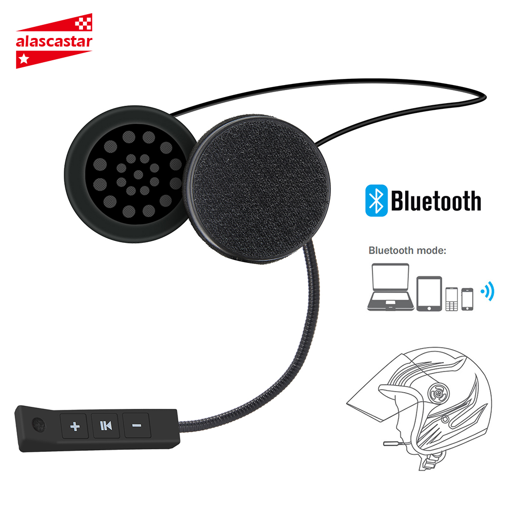 Motorcycle Helmet Headset Wireless Bluetooth Headphone Speaker Handsfree Music Automatic Call Answer Hands-Free BT-08
