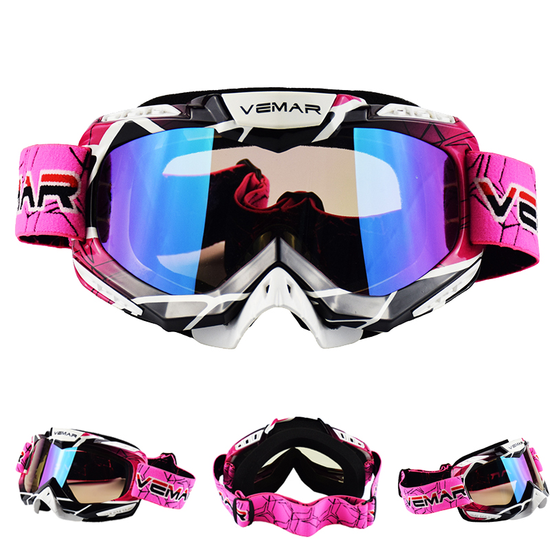 VEMAR Motocross Goggles Glasses Cycling MX Off Road Helmets Ski Sport Gafas Motorcycle Dirt Bike Racing Goggles Fit Moto Helmet|Motorcycle Glasses| |  - title=