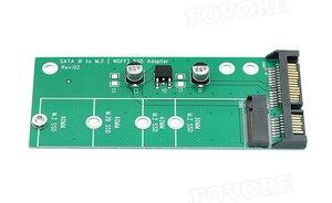 """Image 3 - SATA adapter M.2 SATA to M2 NGFF M2 M2.SATA adapter NGFF M.2 converter 2.5"""" SATA3 Card"""