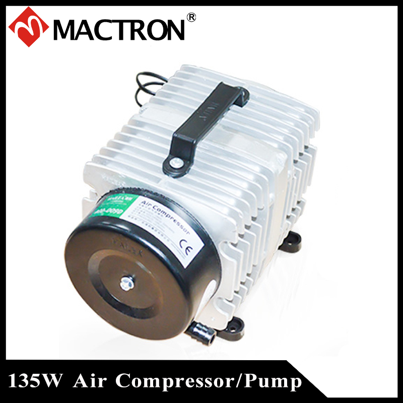 135W Air Compressor/ Pump For CO2 Laser Cutting And Engraving Machine AC110/220V