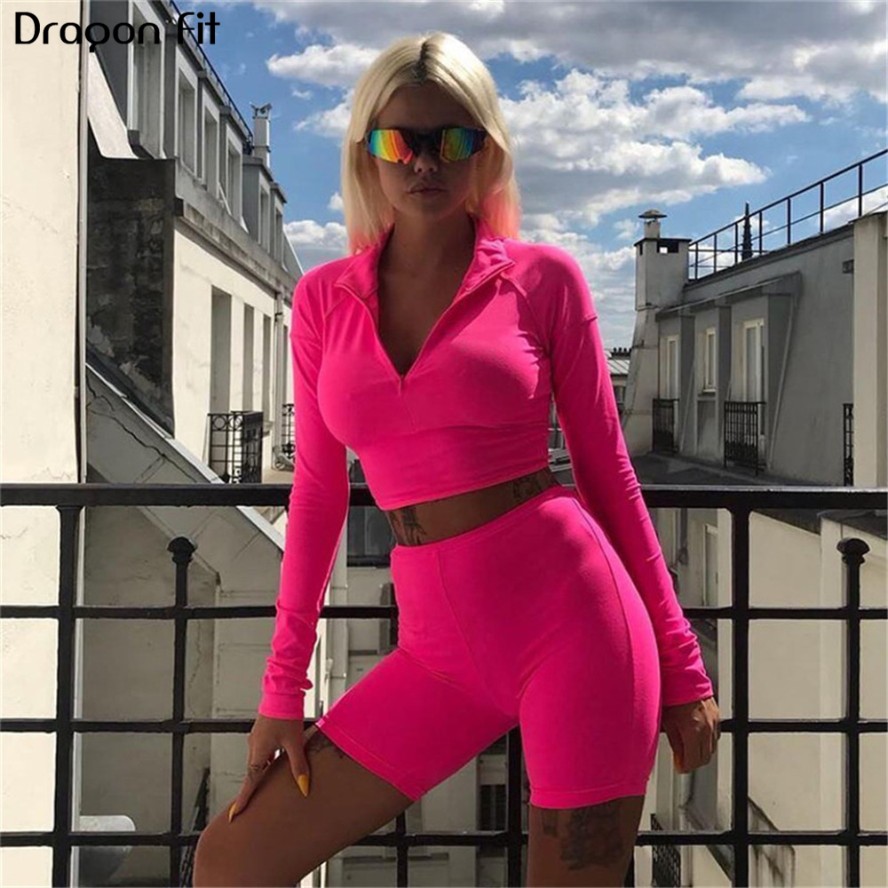 Dragon Fit Women S Workout 2 Piece Set Sexy Yoga Set Long Sleeve Shirt And Fitness Shorts Running Clothes For Women Gym Clothing Yoga Sets Aliexpress What's important is you push yourself and. aliexpress