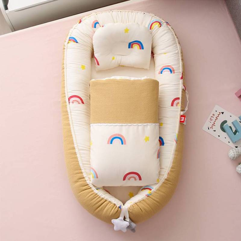 New Baby Bird's Nest Bed Children Middle Beds Pressure Proof Portable Comfort Crib Movable Sleeping Device