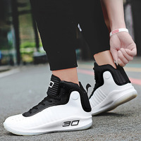 Curry Non slip Comfortable basketball shoes High top Light protection ankle wear resistant breathable casual sports shoes