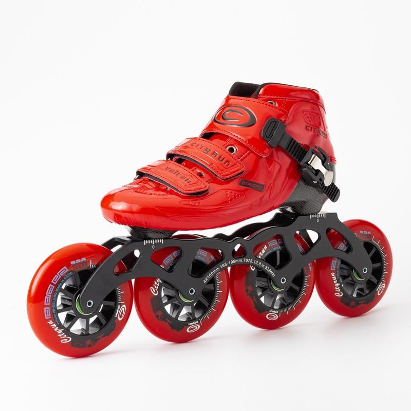 Cityrun patins de velocidade em linha sapatos