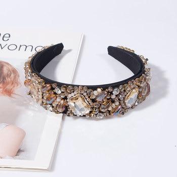Colorful Crystal Rhinestone Headbands  2