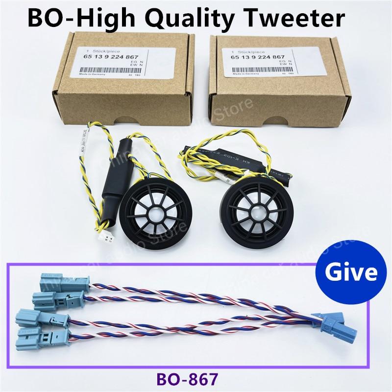 Altavoz estéreo para coche, accesorios de frecuencia de rango de música, bocina BO, para BMW F10, F15, F16, F30, G30, E90, E60, F85, F86, F07, F01