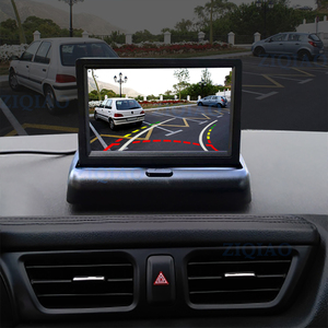 """Image 4 - ZIQIAO 4.3"""" TFT LCD Car Foldable Monitor Dynamic Camera Reverse Paking Camera For Parking Reverse Monitor System"""