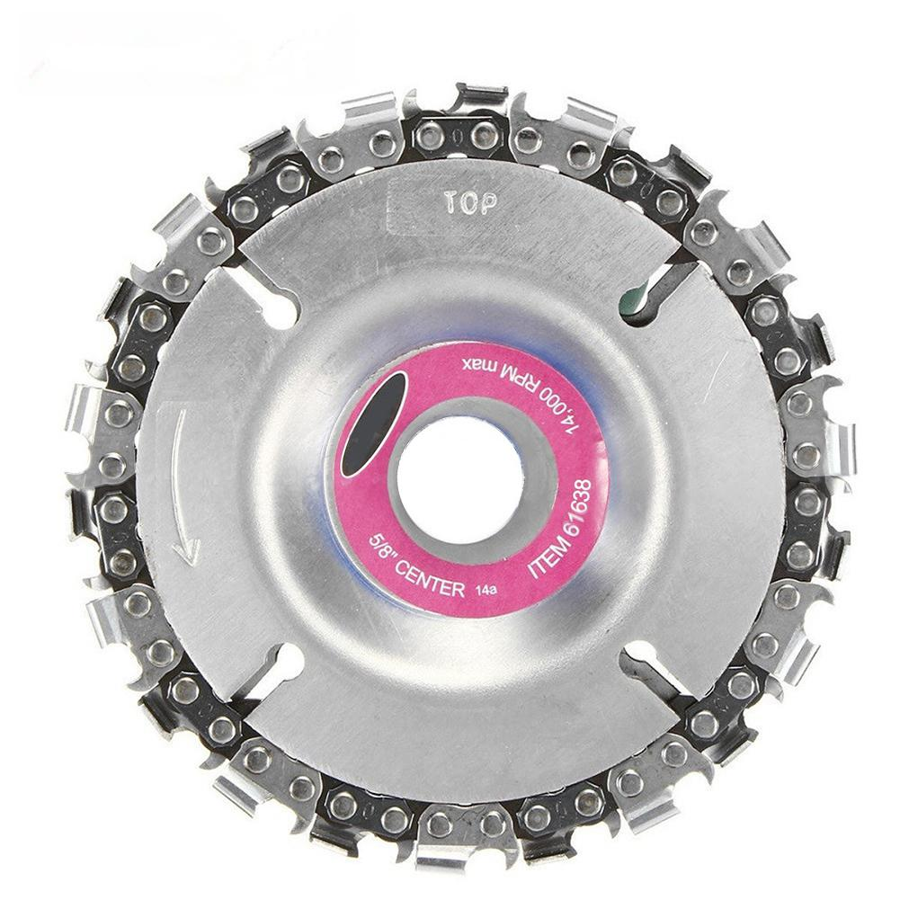 4 Inches Grinder Disc Tooth Fine Chain Saw For Woodworking Tool