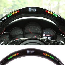 Led-Display Universal-Accessory Steering-Wheel Performance Auto Car with Intellignet-Module-Kit