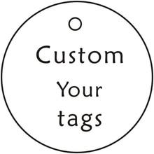 Custom Garment Tags,Swing Tags,Personalized Clothing Lables,White,Kraft Hang tag,Handmade,Thanks Card