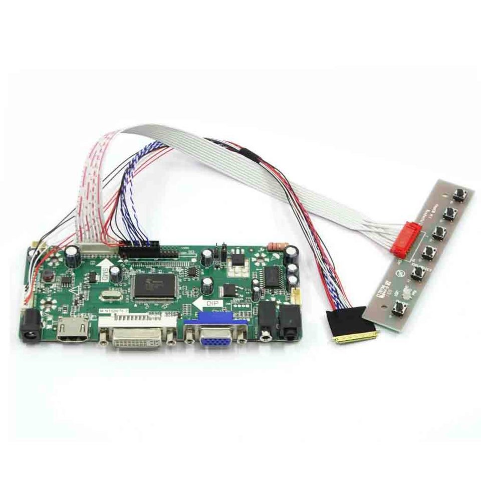 LCD LED  Controller Driver Board Kit for LTN156AR21-002 LVDS HDMI VGA DVI