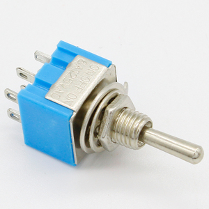 Image 3 - Promotion! 5pcs 3 Position 2P2T DPDT ON OFF ON Miniature Mini Toggle Switch
