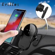 15W Car Qi Wireless Charger induction mount Automatic Clampi