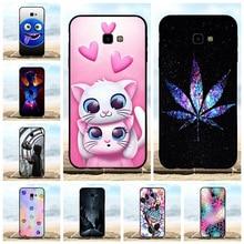 For Samsung Galaxy J4 Plus J415F J415FN Case Soft TPU Prime Cover Cute Patterned Funda