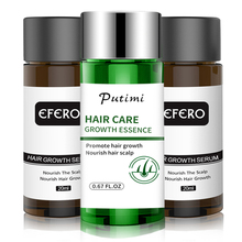 EFERO Essence de croissance capillaire, produit rapide et puissant pour la perte de cheveux, huile essentielle pour la barbe, traitement pour la croissance des cheveux, soins