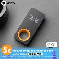 HOTO-telémetro láser inteligente, cinta métrica láser con Bluetooth, pantalla Digital OLED de 30M, medidor de distancia láser que funciona con la aplicación Mijia