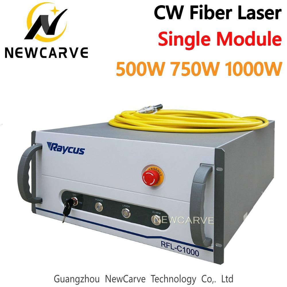 Raycus Fiber Laser Source 500-1000W Single Module RFL-C500/750/1000 CW Fiber Laser Series 1064nm For Fiber Cutting NEWCARVE