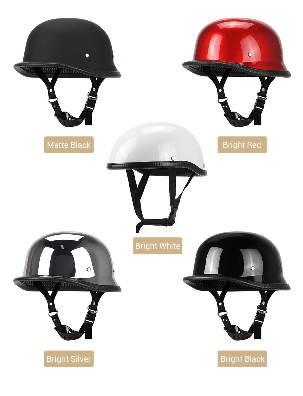 Pilot Style Motorcycle Helmet : pilot, style, motorcycle, helmet, HEROBIKER, Motorcycle, Helmet, German, Leather, Style, Pilot, Retro, Cruise, Chopper, Biker, S|Helmets|, AliExpress