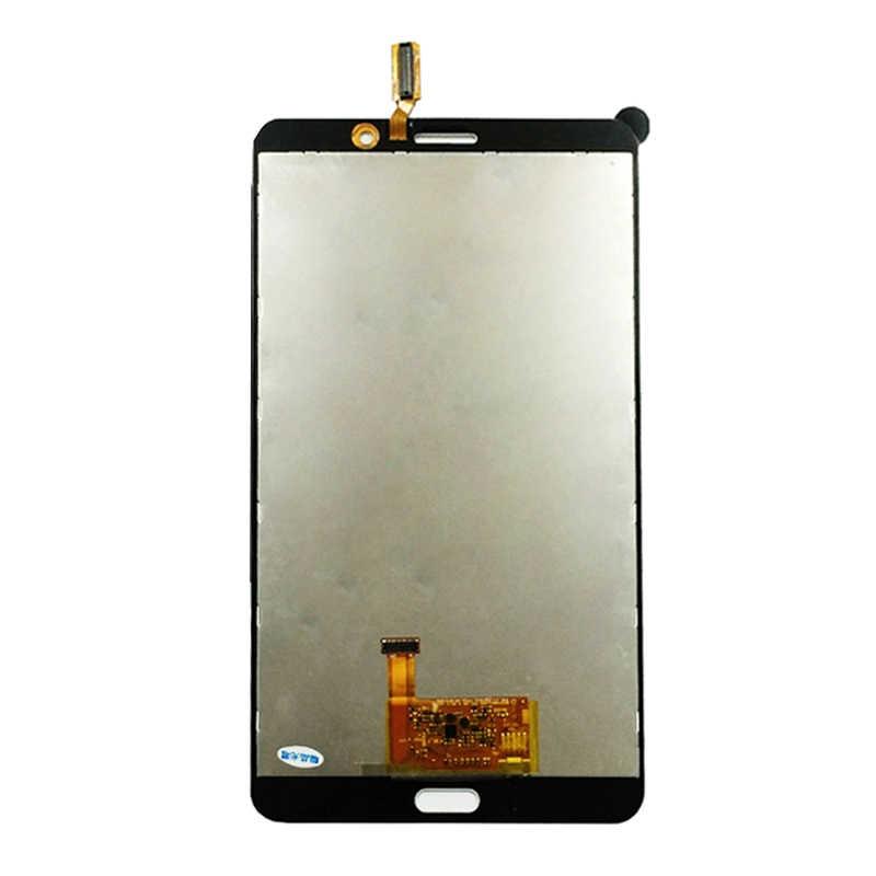 Para Samsung Galaxy Tab 4 7,0 T231 LCD T235 SM-T231 SM-T235 digitalizador de pantalla táctil Sensor + Panel de la pantalla LCD Monitor la Asamblea