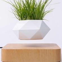 Planters Pot Desk-Decor Flower-Floating-Pot Levitation-Suspension Air-Bonsai Rotation